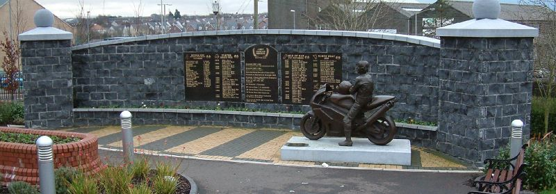 ... memorial garden in ballymoney northern ireland photograph derek mason: www.simonevans.co.uk/v-four/bigd_joeygarden.htm